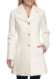 Jessica Simpson Notch Collar Boucle Coat