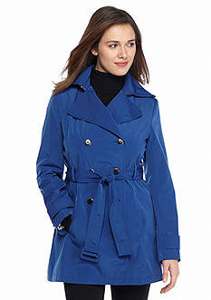 Calvin Klein Double Breasted Trench with Belt