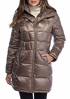 Calvin Klein Women's Puffer Jacket with Hood
