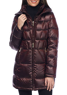 Calvin Klein Women's Puffer Jacket with Hood