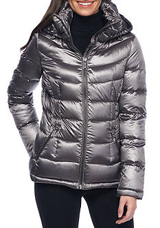 Calvin Klein Puffer Jacket with Zip Up Closure