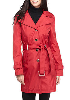 Calvin Klein Trench With Hood