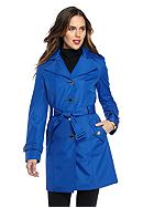 Calvin Klein Classic Single-Button Trench Coat