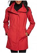 Calvin Klein Zip Aline with Hood Coat