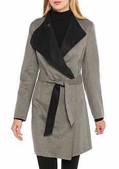 Calvin Klein Double Face Contrast Wrap