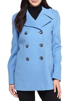 Calvin Klein Faux Wool Peacoat