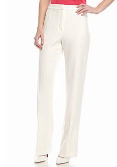 Kasper Plus Size Solid Trouser