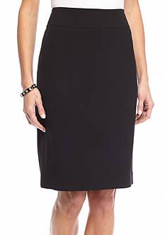 Kasper Slim Yoke Skirt