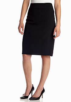 Kasper Petite Stretch Slim Skirt