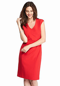 Kasper Seamed Bodice Dress