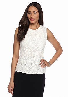 Kasper Lace Blouse