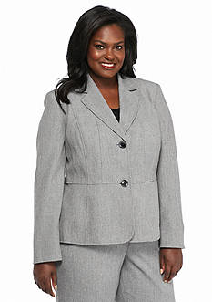 Kasper Plus Size Dual Button Jacket