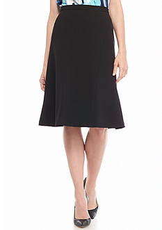 Kasper Fit and Flare Skirt