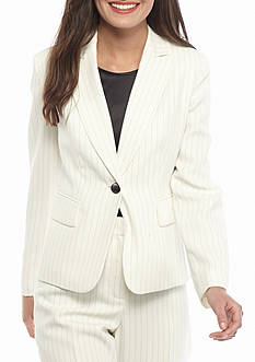 Kasper Petite Pinstripe Jacket