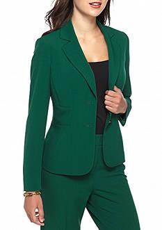 Kasper Solid Two Button Jacket