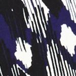Women: Jackets Sale: Grape Mult Kasper Print Open Front Jacket