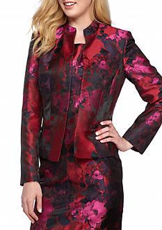Kasper Floral Jacquard Jacket