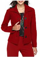 Kasper Boiled Wool Jacket