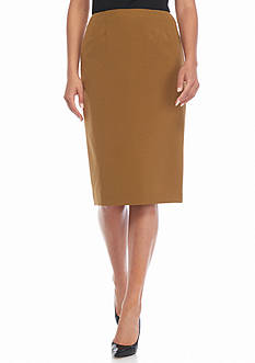 Kasper Slim Skirt