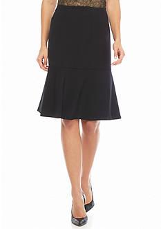 Kasper Flounce Skirt