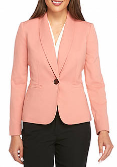 Kasper Petite Single Button Jacket