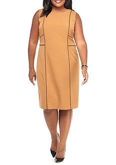 Kasper Plus Size Sleeveless Dress
