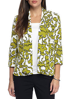 Kasper Printed Callie Jacket