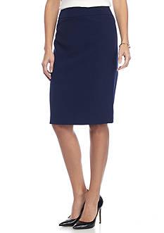 Kasper Crepe Skirt