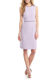 Kasper Stretch Sheath Dress