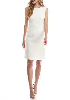 Kasper Textured Sheath Dress