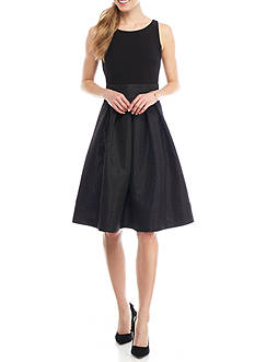 Kasper Dressy Flounce Skirt Dress