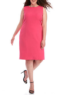Kasper Plus Size Sheath Dress