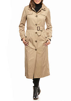 London Fog Rain Trench Coat