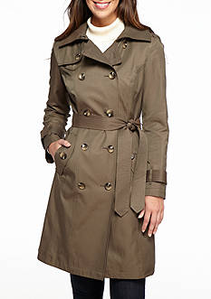London Fog Classic Trench with Hood
