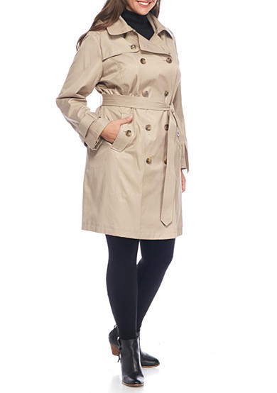 London Fog® London Fog Women's Trench Coat with Belt