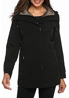 Gallery Cinch Waist with Snap Bib Rain Coat