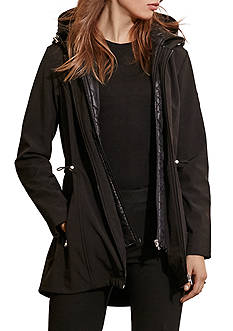 Ralph Lauren Soft Shell Anorak with Quilted Bib