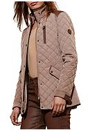 Ralph Lauren Faux Leather Quilted Coat