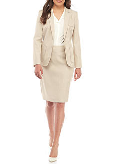 John Meyer Dual-Button Skirt Suit