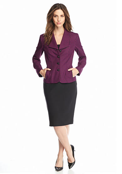 Sale Suits With budget-friendly sale prices, our selection of sale-priced women's skirt suits, pant suits, and dress suits--available in two pieces or three--is sure to please. But hurry these limited-time sale prices end soon, so shop now!