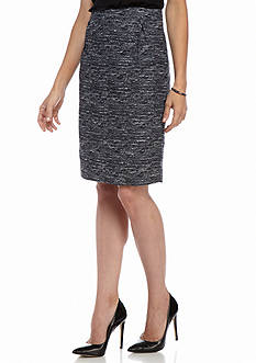 Tommy Hilfiger Tweed Multi Pencil Skirt