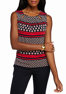 Tommy Hilfiger Printed Jersey Blouse