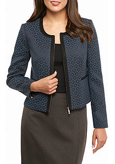 Tommy Hilfiger Patterned Zip Jacket