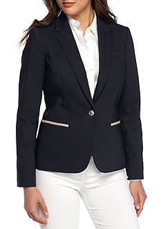 Tommy Hilfiger Cotton Elbow Patch Jacket