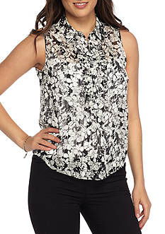 Tommy Hilfiger Floral Print Woven Cami