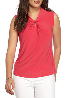 Tommy Hilfiger Solid Knot Neck Cami