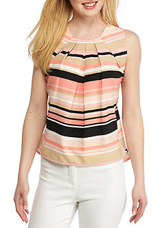 Tommy Hilfiger Stripe Pleated Cami