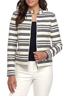 Tommy Hilfiger Zip Front Stripe Jacket