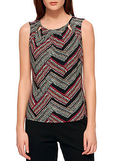 Tommy Hilfiger Sleeveless Confetti Chevron Dot Cami