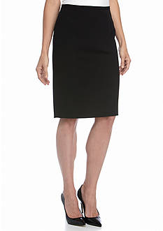 Tommy Hilfiger Flat Front Pencil Skirt